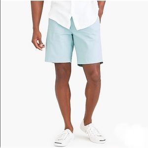 J. Crew men's mint sunwashed oxford shorts